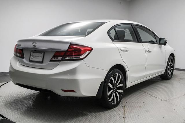Pre-Owned 2015 Honda Civic 4dr CVT EX-L