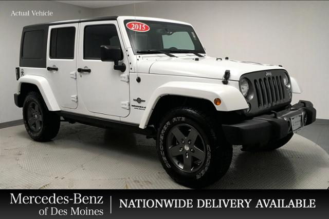 Pre-Owned 2015 Jeep Wrangler Unlimited 4WD 4dr Freedom Edition *Ltd Avail*