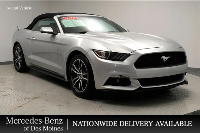 Pre Owned 2017 Ford Mustang Ecoboost Premium Convertible Rwd