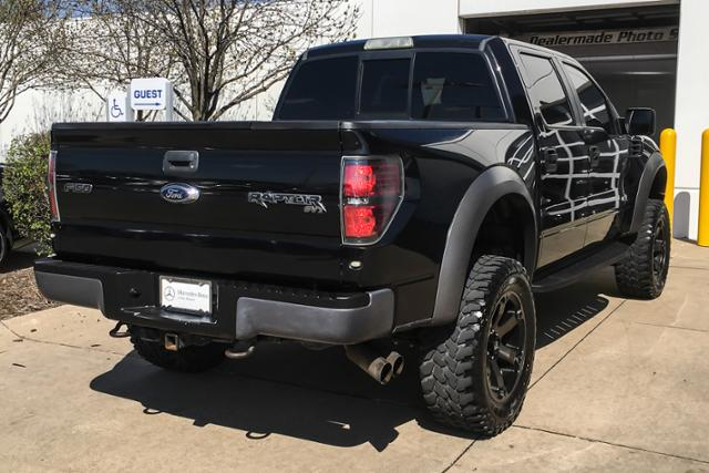 Pre-Owned 2012 Ford F-150 4WD SuperCrew 145 SVT Raptor