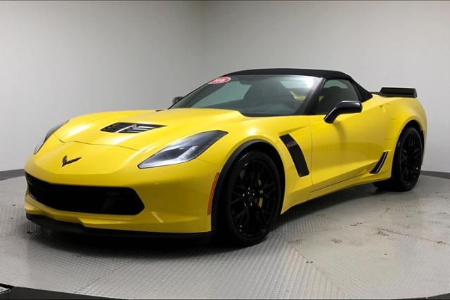 Pre-Owned 2016 Chevrolet Corvette 2dr Z06 Conv w/2LZ