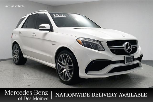 Certified Pre-Owned 2016 Mercedes-Benz GLE AMG® GLE 63 SUV