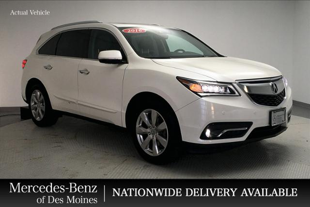 Pre-Owned 2016 Acura MDX SH-AWD 4dr w/Advance/Entertainment