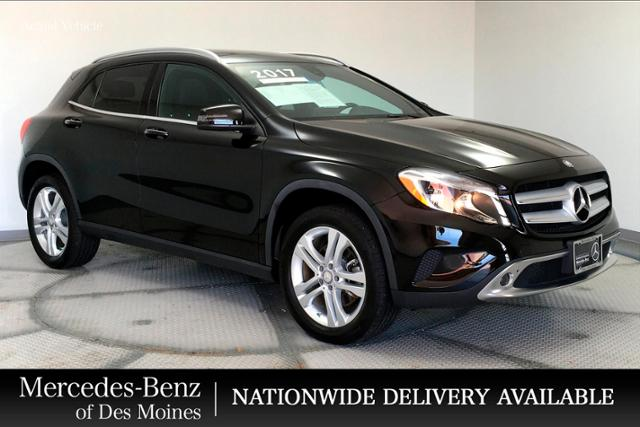pre owned 2017 mercedes benz gla gla 250 suv in urbandale hj350288mp mercedes benz of des moines mercedes benz of des moines