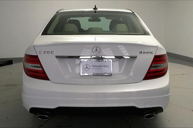 Certified Pre-Owned 2014 Mercedes-Benz C-Class C 300 Sport