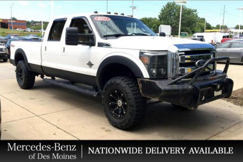 Pre-Owned 2011 Ford Super Duty F-350 SRW 4WD Crew Cab 172 Lariat