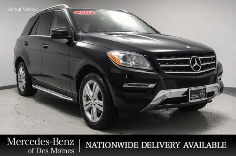 Certified Pre-Owned 2015 Mercedes-Benz M-Class 4MATIC® 4dr ML 250 BlueTEC