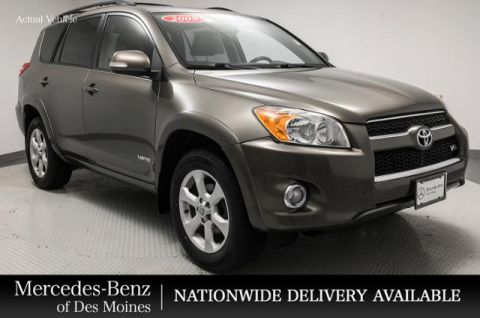 Pre-Owned 2009 Toyota RAV4 4WD 4dr V6 5-Spd AT Ltd