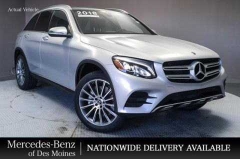 New 2018 Mercedes-Benz GLC GLC 300 4MATIC® SUV