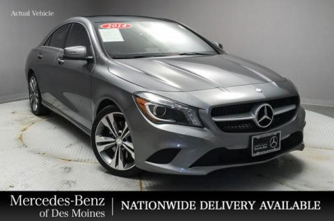 Certified Pre-Owned 2014 Mercedes-Benz CLA CLA 250 4MATIC® Coupe