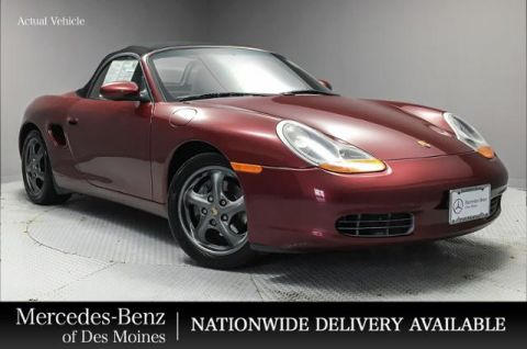 Pre-Owned 1999 Porsche Boxster 2dr Roadster w/Tiptronic